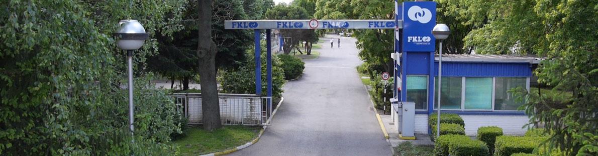 Výrobní závod FKL v Srbsku.